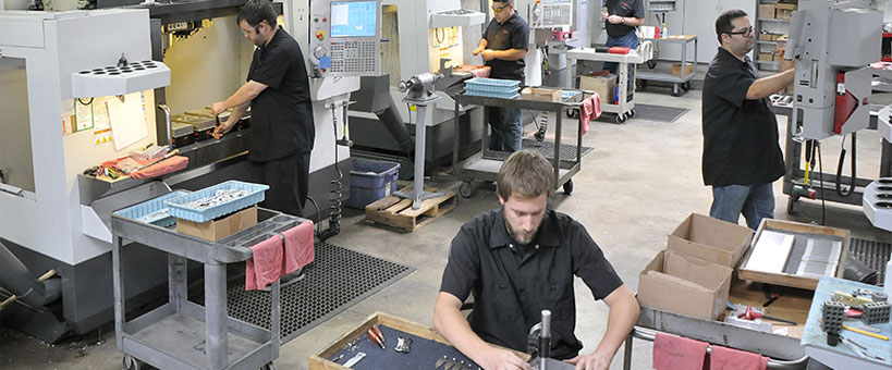 leading industrial full service machine shop